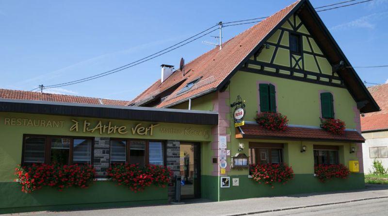 ArbreVert 001 - Restaurant «À L'arbre Vert» à Berrwiller