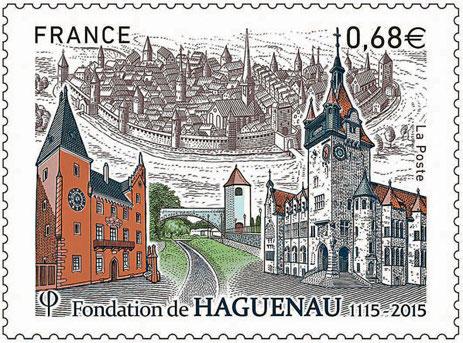 haguenau - Haguenau a du timbre