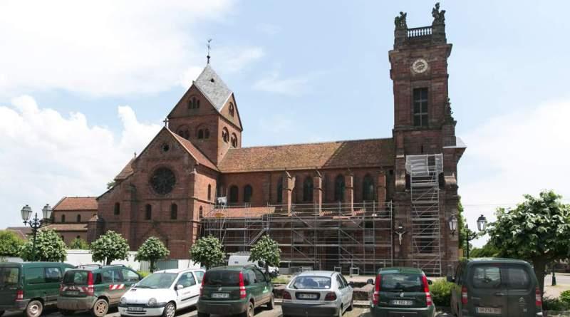 EgliseNeuwiller 047 - Église Saints-Pierre-et-Paul : un joyau restauré