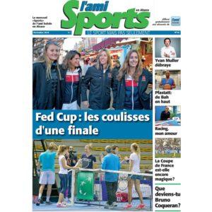 Lire la suite dans L'Ami Sports en Alsace du mois de novembre, déjà disponible dans son édition numérique…