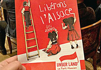 Unser Land promet de «libérer l'Alsace»