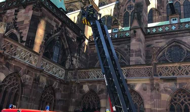 IMG 5221 - Exercice d'incendie à la Cathédrale de Strasbourg