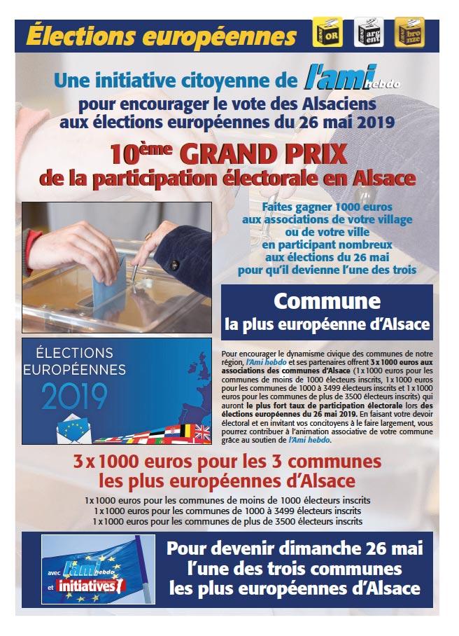 affiche election - 10e grand prix de la participation électorale