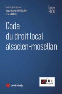 droit local - Enfin un code du droit local