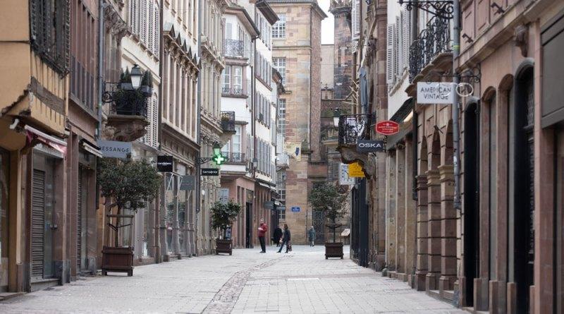 Strasbourg pendant le confinement