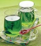 gelee menthe - Gelée de thé à la menthe