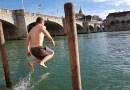 Se baigner dans le Rhin: Mieux qu'une piscine!