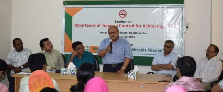 Seminar on Importance of tobacco control in achieving SDGs