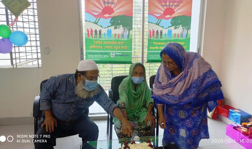 Dhaka Ahsania Mission celebrates International Day for Older Persons in its Hena Ahmed Shantinibash