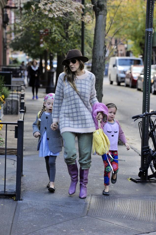 Sarah Jessica Parker e figlie