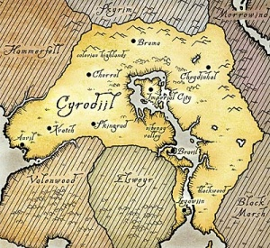 Carte de Cyrodil