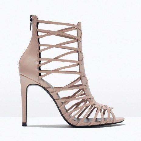 Sandali nude di Zara