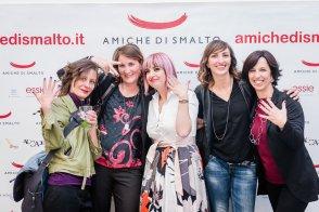 Con Chiara Nano, Benedetta Cerci, Elena Mezzanotte e Donata Baroni