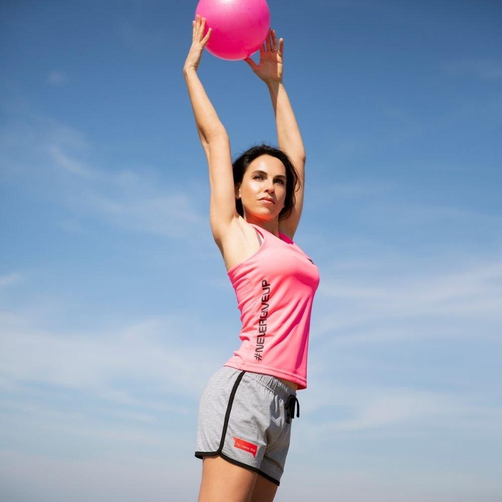 foto di canotta fitness Pink