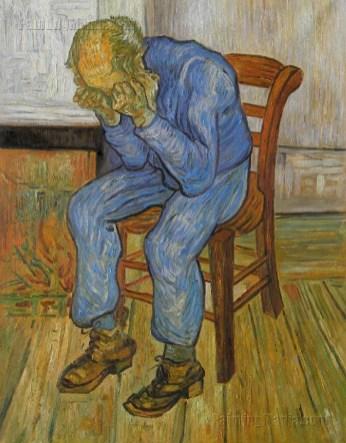 """""""Vecchio che soffre""""Vincent Van Gogh"""