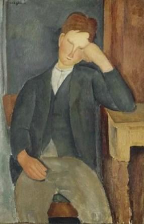 """""""Il giovane apprendista""""Amedeo Modigliani"""