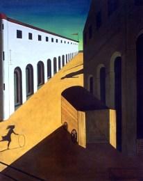 """""""Mistero e malinconia d una strada""""Giorgio De Chirico"""