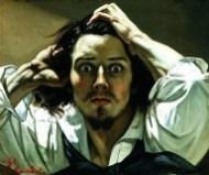 """""""Uomo disperato""""Gustave Courbet"""