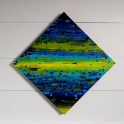 Angelo Toffoletto - Albachiara - acrilico su tela - cm. 69 x 69