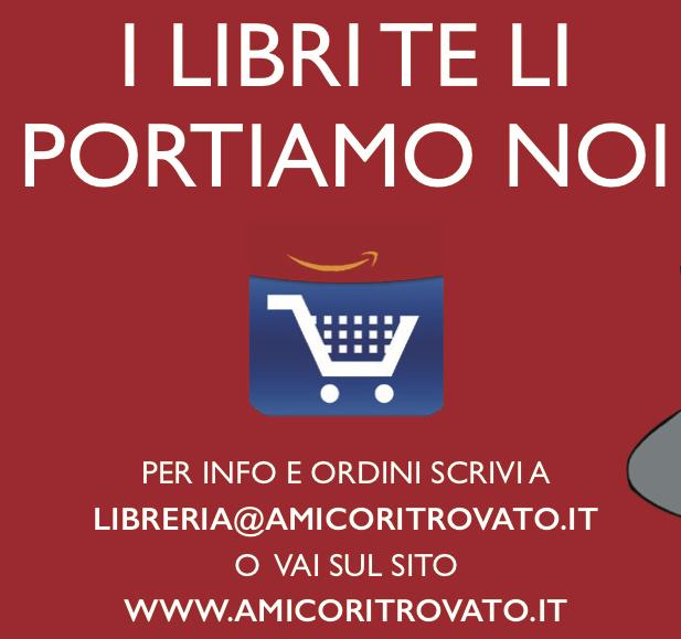 I libri te li portiamo noi! Contattaci per informazioni e ordini. Spediamo in Italia e all'estero