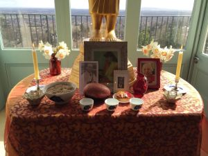 Easter Sunday shrine