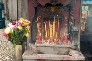 Streetside altar