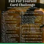 Fall For Yourself tarot challenge