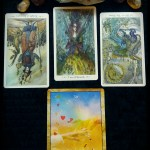 4 card tarot reading by Amie Ravenson