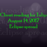 Eclipse tarot reading
