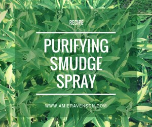 Purifying Smudge Spray