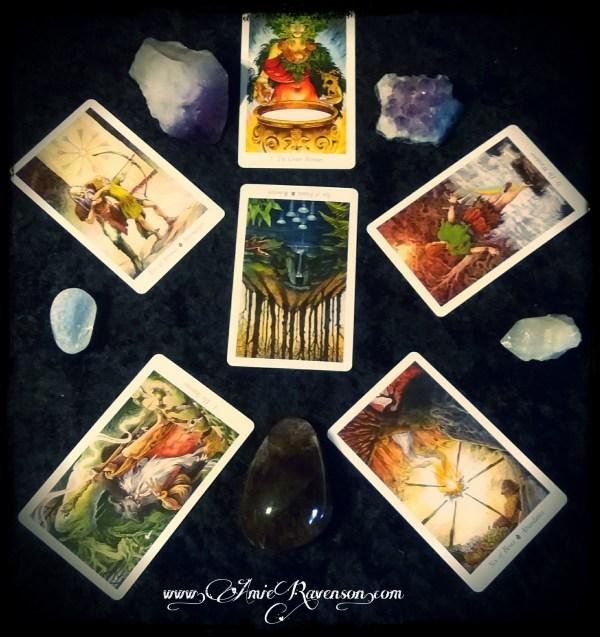 Pentacle Pagan Path reading