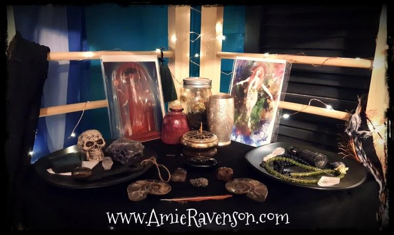 Samhain Altar 2