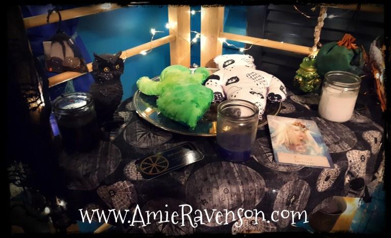 Samhain Altar 3