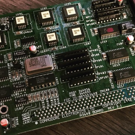 Commodore Amiga A3640 CPU Card