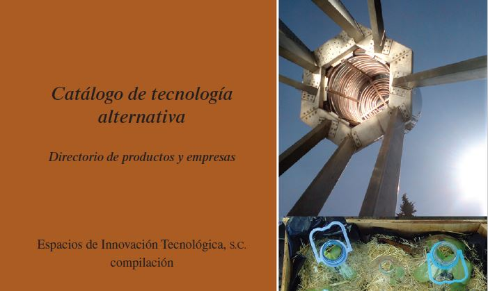 Catalogo de tecnología alternativa