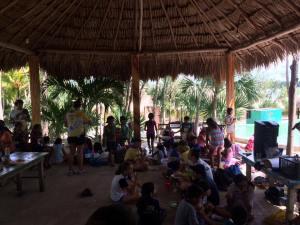 Talleres educativos en Balam Nah