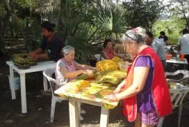 Productos locales en Balam-Nah