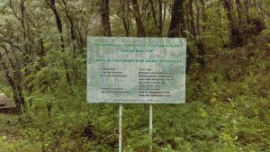 Plata de aguas residuales en Ecoturixtlán