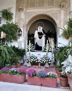 Los Patios de Córdoba en Jueves Santo
