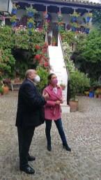 Visita de Isabel Ambrosio