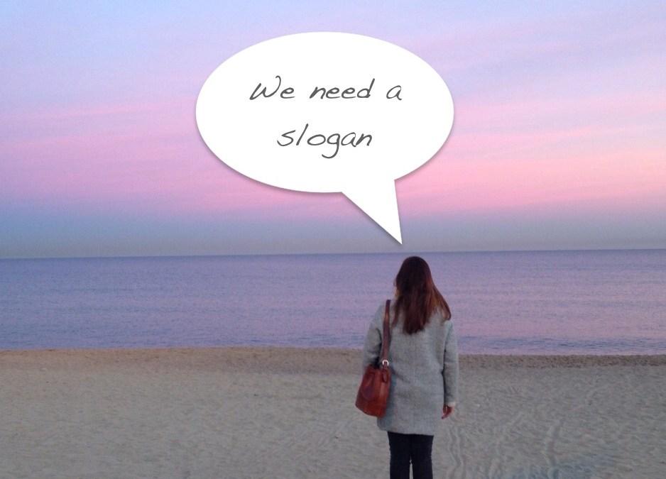 Help us choose our slogan!