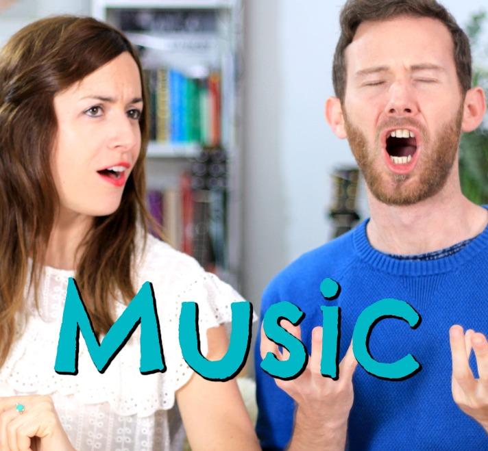 Vocabulario: MUSIC – Clase de inglés – música