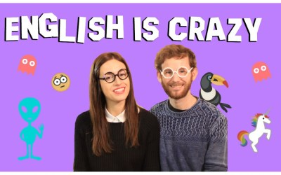 ¿Por qué es tan difícil aprender inglés? Because it's … crazy!