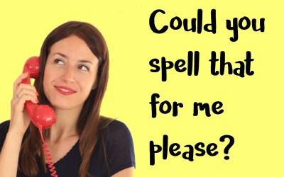 ¿Seguro que sabes deletrear bien en inglés?