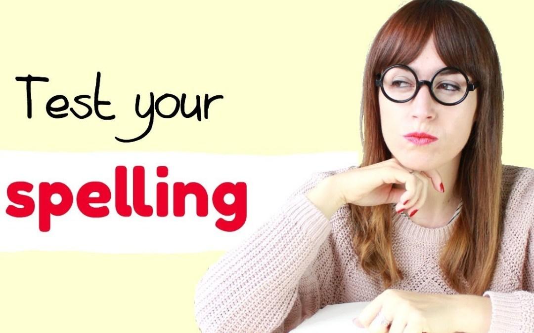 Spelling test: palabras que solemos escribir mal en inglés