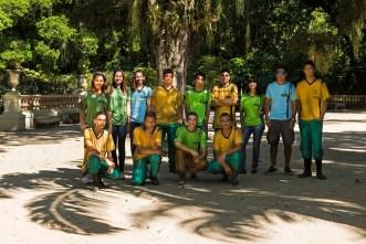 Adolescentes que integram o Projeto Florescer. Foto: Ana Giglio