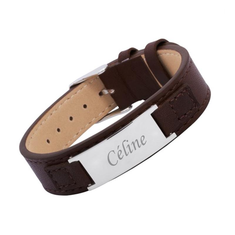 Bracelet Cuir Femme Personnalis Une Ide De Cadeau