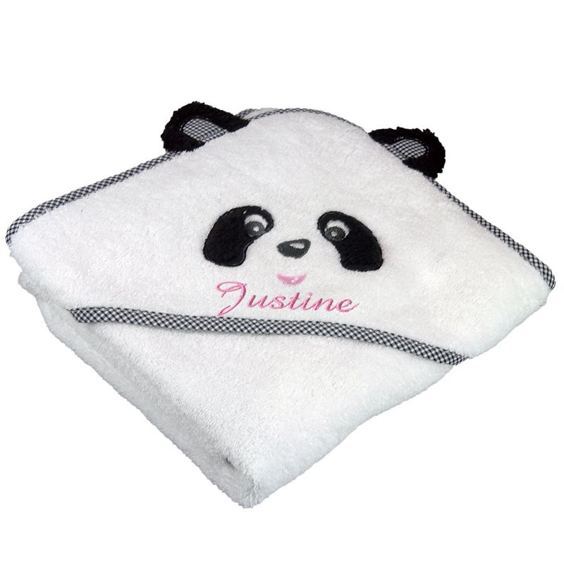 Cape De Bain Personnalise Panda Une Ide De Cadeau