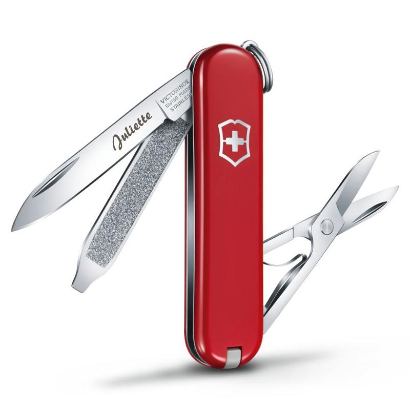 Couteau Suisse De Poche Avec Gravure Une Ide De Cadeau
