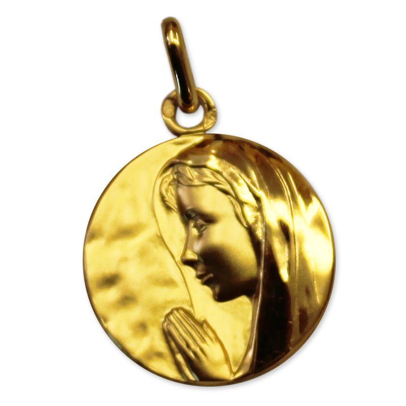 Mdaille De Baptme Personnalise Vierge Marie Une Ide
